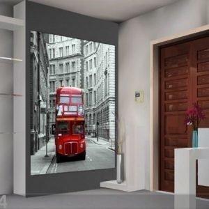 Ag Design Fleece Kuvatapetti London Big Ben 180x202 Cm