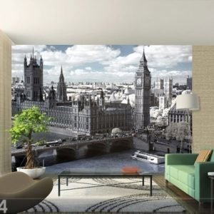 Ag Design Fleece Kuvatapetti London Parliament 360x270 Cm