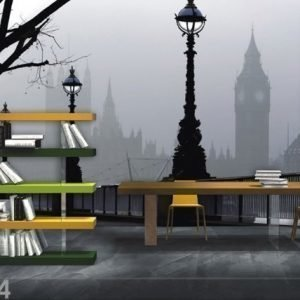 Ag Design Fleece Kuvatapetti Magical London 360x270 Cm