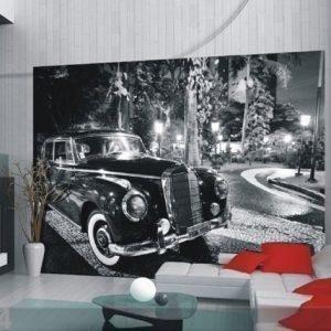 Ag Design Fleece-Kuvatapetti Mercedes 360x270 Cm