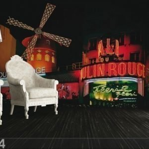 Ag Design Fleece Kuvatapetti Moulin Rouge 360x270 Cm