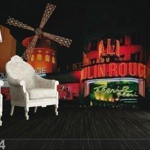 Ag Design Fleece Kuvatapetti Moulin Rouge 360x270 Cm