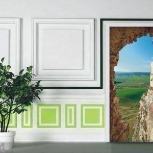 Ag Design Fleece Kuvatapetti Mountainous Country 90x202 Cm