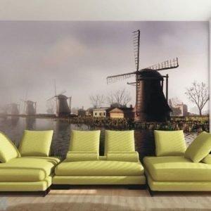 Ag Design Fleece Kuvatapetti Netherlands 360x270 Cm