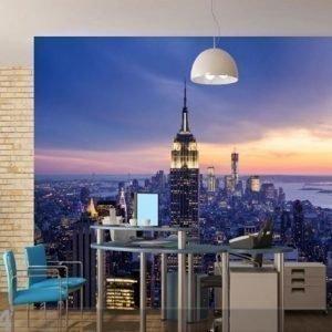 Ag Design Fleece Kuvatapetti New York 360x270 Cm