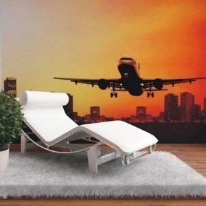 Ag Design Fleece Kuvatapetti Night Flight 360x270 Cm
