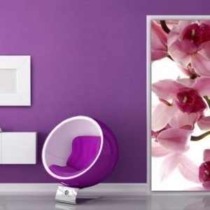 Ag Design Fleece Kuvatapetti Orchids 90x202 Cm