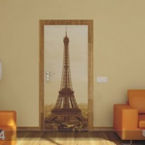 Ag Design Fleece Kuvatapetti Paris Eiffel Tower 90x202 Cm