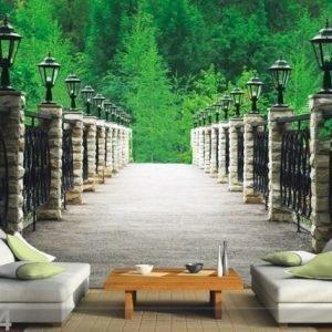 Ag Design Fleece Kuvatapetti Park 360x270 Cm