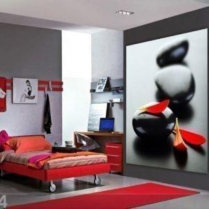 Ag Design Fleece Kuvatapetti Petals On The Stones 180x202 Cm