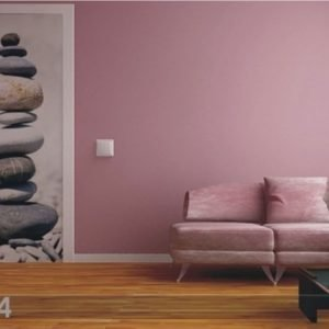 Ag Design Fleece Kuvatapetti Pillar Of Stone 90x202 Cm