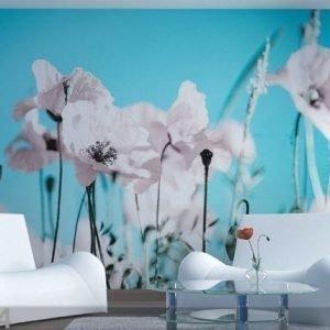 Ag Design Fleece-Kuvatapetti Poppy 360x270 Cm