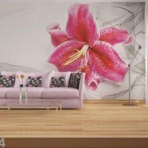 Ag Design Fleece-Kuvatapetti Red Orchid 360x270 Cm