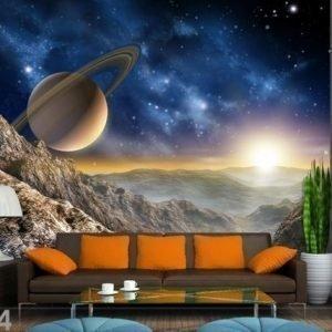 Ag Design Fleece-Kuvatapetti Saturn 360x270 Cm