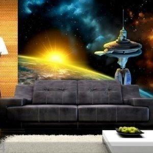 Ag Design Fleece-Kuvatapetti Space 360x270 Cm