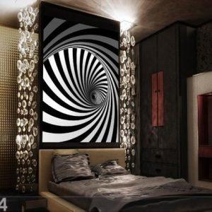 Ag Design Fleece Kuvatapetti Spiral 180x202 Cm