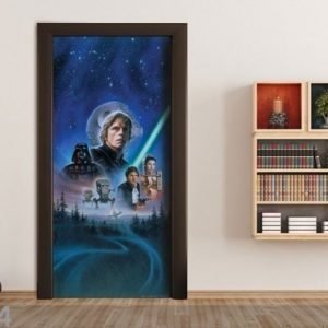 Ag Design Fleece Kuvatapetti Star Wars 2 902x202 Cm