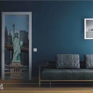 Ag Design Fleece Kuvatapetti Statue Of Liberty 90x202 Cm