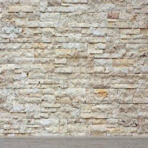 Ag Design Fleece-Kuvatapetti Stone Wall 360x270 Cm