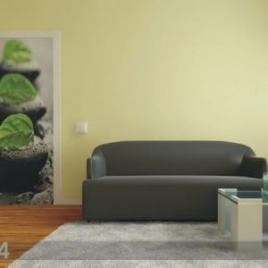 Ag Design Fleece Kuvatapetti Stones With Leaves 90x202 Cm