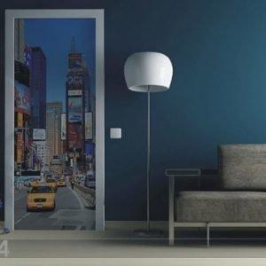 Ag Design Fleece Kuvatapetti The City 90x202 Cm