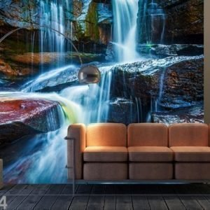 Ag Design Fleece Kuvatapetti Water And Stones 360x270 Cm