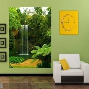 Ag Design Fleece Kuvatapetti Waterfall At Lake 180x202 Cm