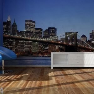 Ag Design Kuvatapetti Brooklyn Bridge 360x254 Cm