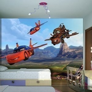 Ag Design Kuvatapetti Disney Car Files 360x254 Cm