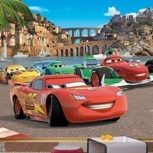Ag Design Kuvatapetti Disney Cars 2 Race 360x254 Cm