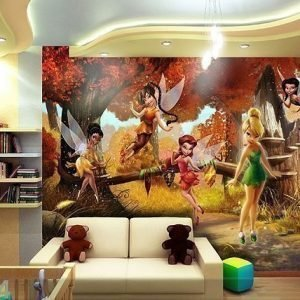 Ag Design Kuvatapetti Disney Fairies 360x254 Cm
