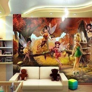 Ag Design Kuvatapetti Disney Fairies 360x254 Cm