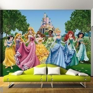 Ag Design Kuvatapetti Disney Princess 360x254 Cm