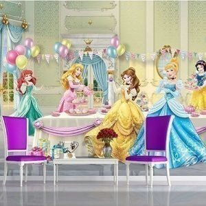 Ag Design Kuvatapetti Disney Princesses Celebrate 360x254 Cm