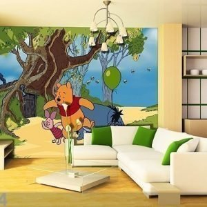 Ag Design Kuvatapetti Disney Winnie The Pooh 360x254 Cm