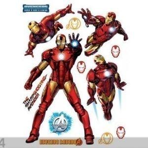 Ag Design Seinätarra Avengers Iron Man 65x85 Cm