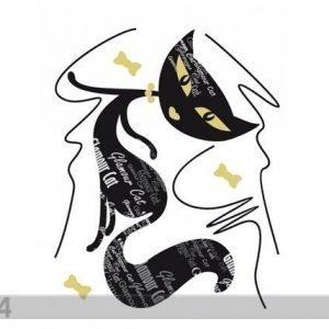 Ag Design Seinätarra Black Cat 1
