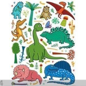 Ag Design Seinätarra Dinosaur 2