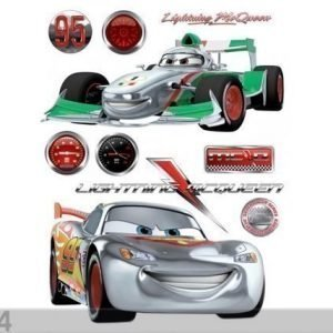 Ag Design Seinätarra Disney Cars 2