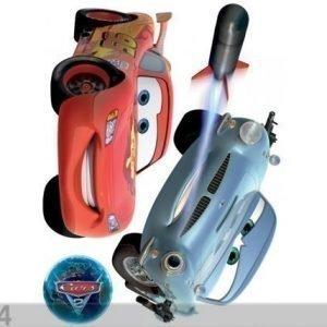 Ag Design Seinätarra Disney Cars 2 Mcqueen And Finn Mcmissile 65x85 Cm
