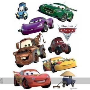 Ag Design Seinätarra Disney Cars 2 Mcqueen And Mater 42