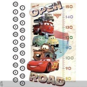 Ag Design Seinätarra Disney Cars 2 Mcqueen Scale Growth
