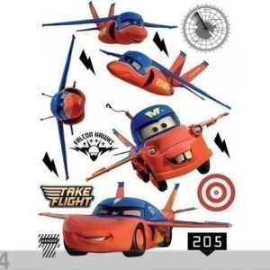 Ag Design Seinätarra Disney Cars Flies 65x85 Cm