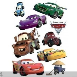Ag Design Seinätarra Disney Cars Mcqueen And Mater 65x85 Cm