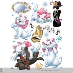 Ag Design Seinätarra Disney Cats 65x85 Cm