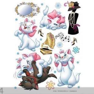 Ag Design Seinätarra Disney Cats 65x85 Cm