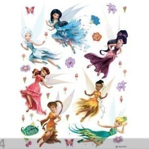 Ag Design Seinätarra Disney Fairies 2