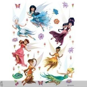 Ag Design Seinätarra Disney Fairies 42