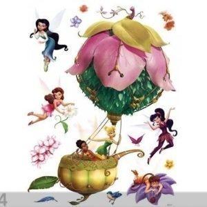 Ag Design Seinätarra Disney Fairies In A Balloon 65x85 Cm