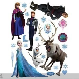 Ag Design Seinätarra Disney Ice Kingdom 65x85 Cm